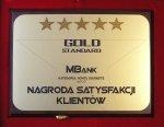 mBank laureatem nagrody Gold Standard