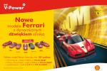 Nowa kolekcja modeli Ferrari z dźwiękiem silnika, tylko teraz na stacjach Shell