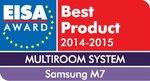 Głośnik multiroom Samsung M7 nagrodzony przez EISA
